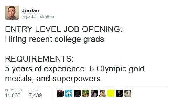 Entry level job opening!